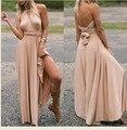 Longa das mulheres maxi dress convertible vestido wrap dress bandage dress roupas para gestantes de maternidade da dama de honra 348