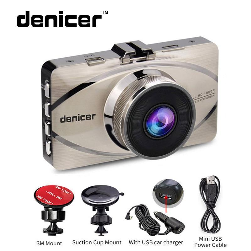 Denicer Novatek 96655 Car DVR font b Camera b font Full HD 1920x1080P Video Recorder 170