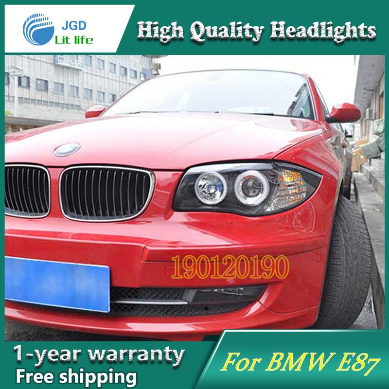 JGD Brand New Styling for BMW E87 116i 118i 120i 125i LED Headlight 2004-2011 Headlight Bi-Xenon Head Lamp LED DRL Car Lights bmw 116 i в минске