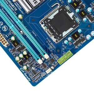Image 4 - Gigabyte GA G41MT S2 Desktop Motherboard G41MT S2 G41 Socket LGA 775 For Core 2 DDR3 8G Micro ATX Original Used Mainboard