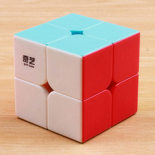 QIYI magic cube 2x2x2 Speed Puzzle cube stickerless Cube 2*2*2 toys for Children birthday gift magico cubo time machine magic cube time machine cube cubo with extra free stickers collection cube best gift for cubers