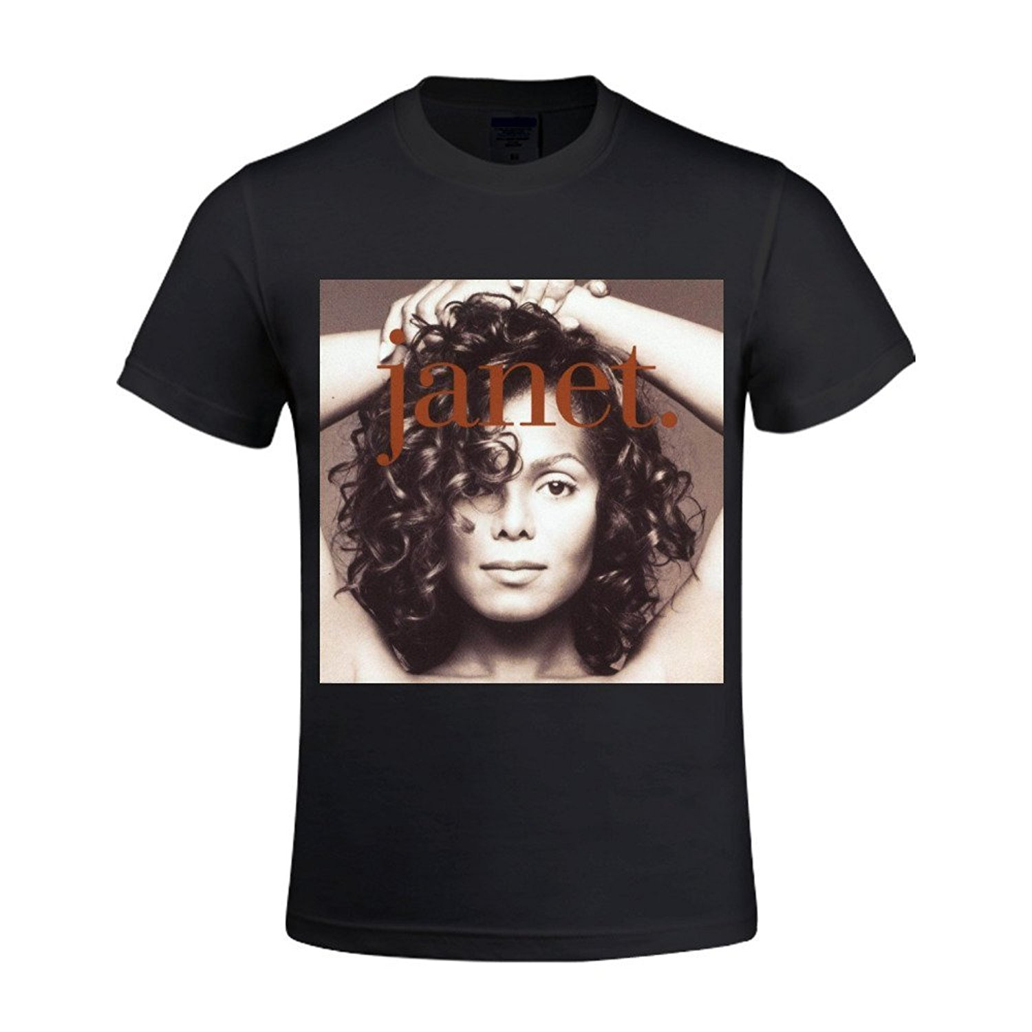 ee08fb0a Casual T-shirts Hip Hop Style Tops Tee S-2xl Janet Jackson Janet Shirts 100  Cotton Men O Neck
