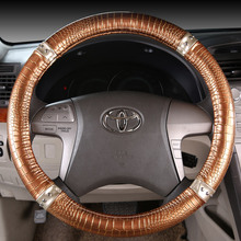 Personalized slip-resistant fashion steering wheel cover for MAZDA 3 horse 6 horse 2cx-5 car cover,cover fit for 95%cars