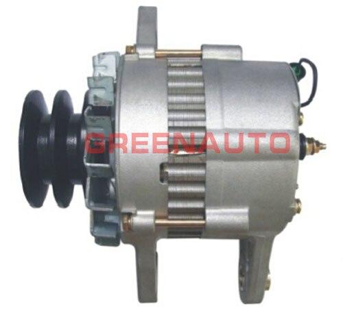 24V 30A automatický alternátor pro rypadlo Hitachi EX200-1, motor Isuzu 6BD1, 1-81200-365-0 0-33000-6000 1812003650 0330006000