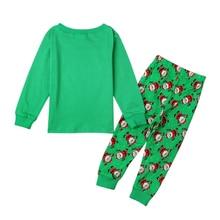 Christmas Baby Boys Girls Clothing Sets Santa Claus Deer Pajamas