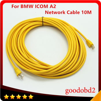 цена ICOM A2 Car Detector Interface Cable for BMW ICOM A2 Network Cable ICOM A2 Lan Cable ICOM A2+B+C 10 Meter онлайн в 2017 году