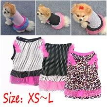 Летняя футболка для щенка, одежда для собак, одежда для собак, жилет, футболка для собак, Весенняя юбка для щенка, юбка для торта