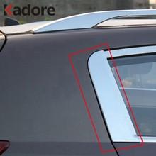 Décoration de fenêtre arrière chromé pour Kia Sportage, pilier pour garniture de fenêtre arrière C, Triangle, pour Kia Sportage, 2015, 2014, 2013, 2012 et 2011
