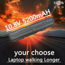 HSW 5200MAH 6cells Laptop Battery for Toshiba Satellite Pro S500 S750 A11 M11 S11 PA3788U PA3788U-1BRS PA3788 PABAS223  bateria