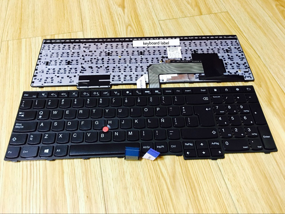 New notebook laptop keyboard for Lenovo Thinkpad E560 LA/Latin layout new notebook laptop keyboard for dell latitude e5420 e5430 e6220 e6230 brazil layout