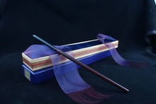 Newest Metal Core draco Magic Wand/ Harry Magical Original Ribbon Gift Box Packing Free Train Ticket