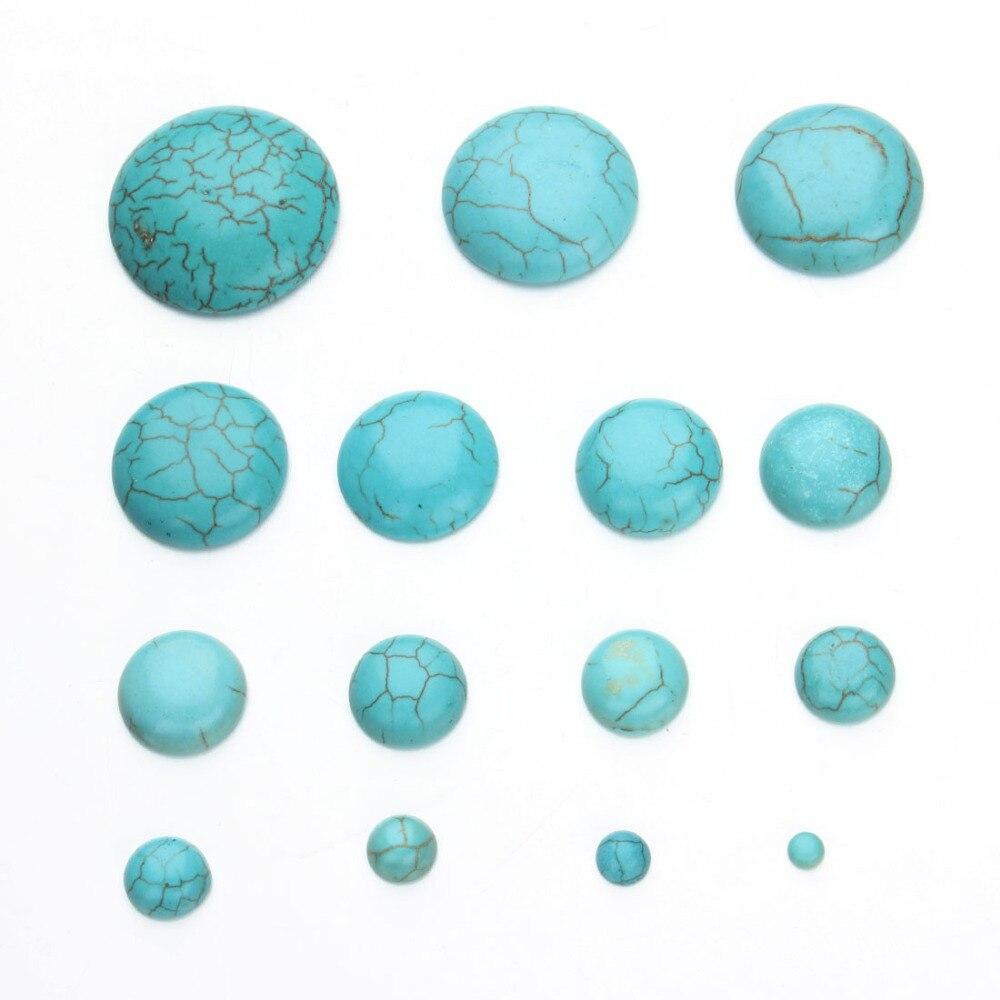 10pcs//lot 4-18mm Natural Tigereye Stone Cabochons Beads Flatback Domes Cameo