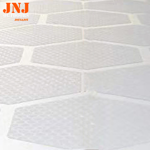 Image 1 - waxless hexagon style surfboard transparent deck traction pad 20pcs a box