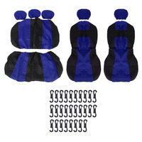 2017 Universal Polyester 5 Seats Auto Car Anti Dust Tear Resistence Breathable Seat Cushion Car Seat