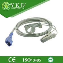 Veterinary Vet Animal Clip Lingual SpO2 Sensor for Nellcor Oximax DB9 9pin