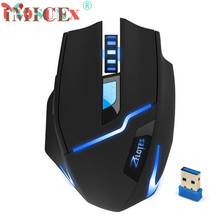 Reliable 2.4G Wireless 2400DPI Adjustable Game Gaming Mouse for Laptop PC Gamer Ultra-precise Scroll Wheel