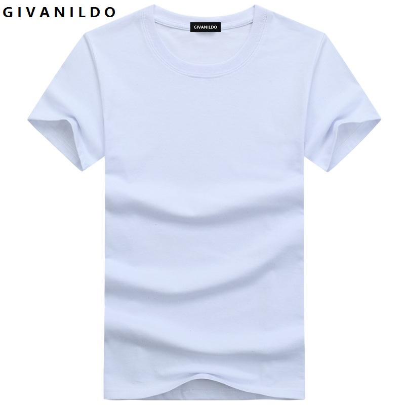 Givanildo T-Shirt Men T Shirt Tshirts Cotton Summer Clothes