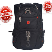 Swiss usb music Multifunctional 17 inch Waterproof Laptop backpack gear Male boy brand Men Travel Bag Rucksack Computer BaG