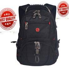 Swiss usb music Multifunctional 17 inch Waterproof Laptop backpack gear Male boy