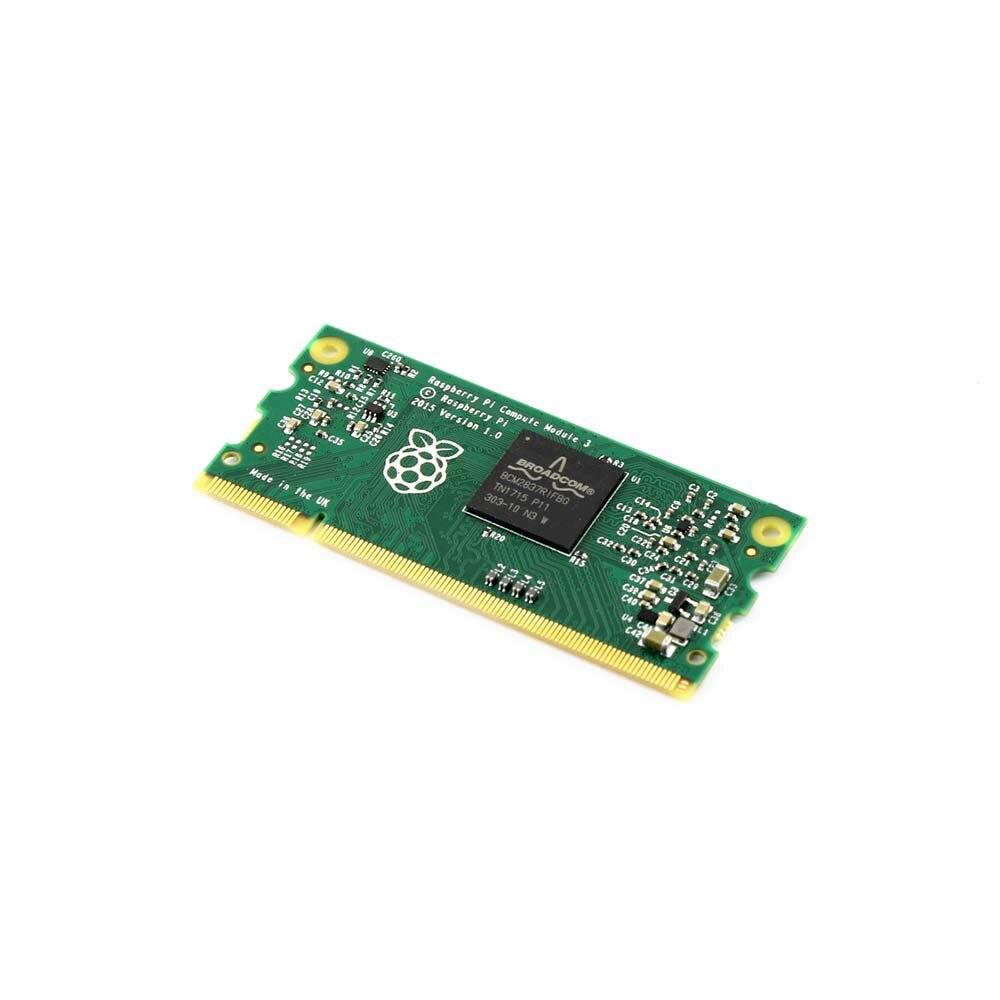 Raspberry Pi Module de calcul 3 contient les boyaux d'un Raspberry Pi 3 4 GB eMMC Flash 1.2 GHz quad-core ARM Cortex-A53 processeur