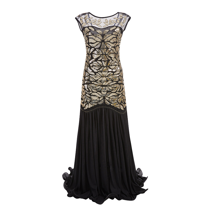 HOT Prom Gown 1920s Gatsby Flapper Dress Party Bridesmaid Evening Long Dresses