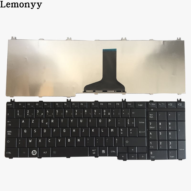 French keyboard For toshiba Satellite C650 C655 C655D C660 C670 L650 L655 L670 L675 L750 L755 l755d Black laptop Fr Keyboard wholesale v000225020 laptop motherboard for toshiba c650 c655 100