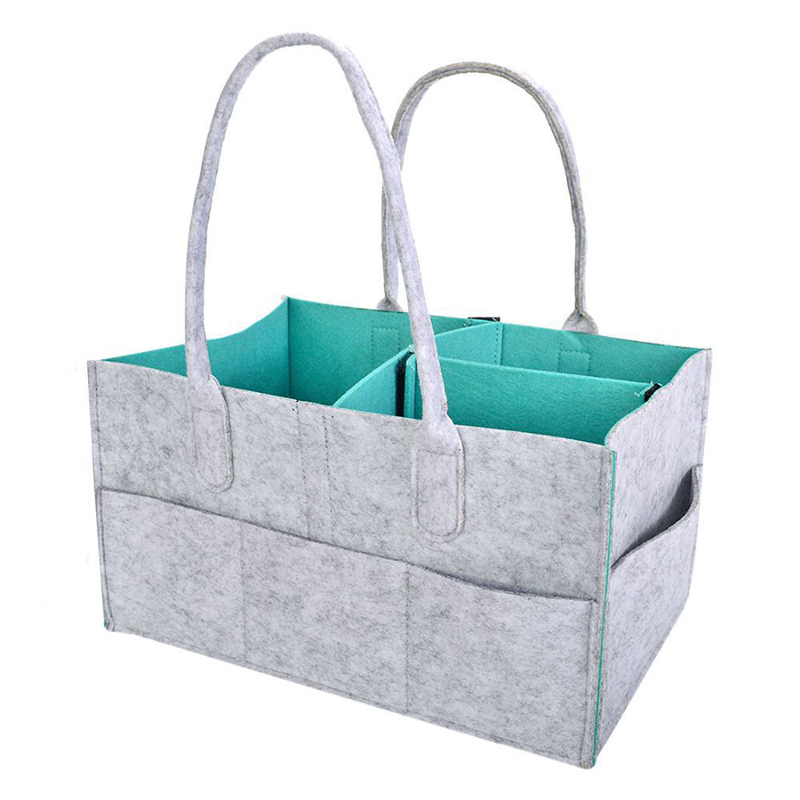 Popular Brand Baby Diaper Caddy Organizer And Nursery Tote With Solid Bottom And Dividers Bag Attractive And Durable Boxes & Storage
