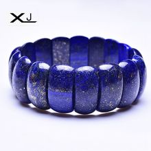 Natural Lapis Stone Bracelet Jewelry Handmade Beads Mans Bracelets Creative Gifts
