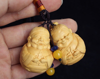 Creative boxwood crafts couple bag hanging decorations, characters old ladies hand hanging decorative gifts free shipping
