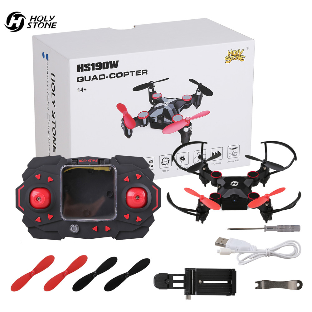 Holy Stone HS190W FPV Drone met Camera Mini RC Helicopter Opvouwbare - Radiografisch bestuurbaar speelgoed - Foto 6