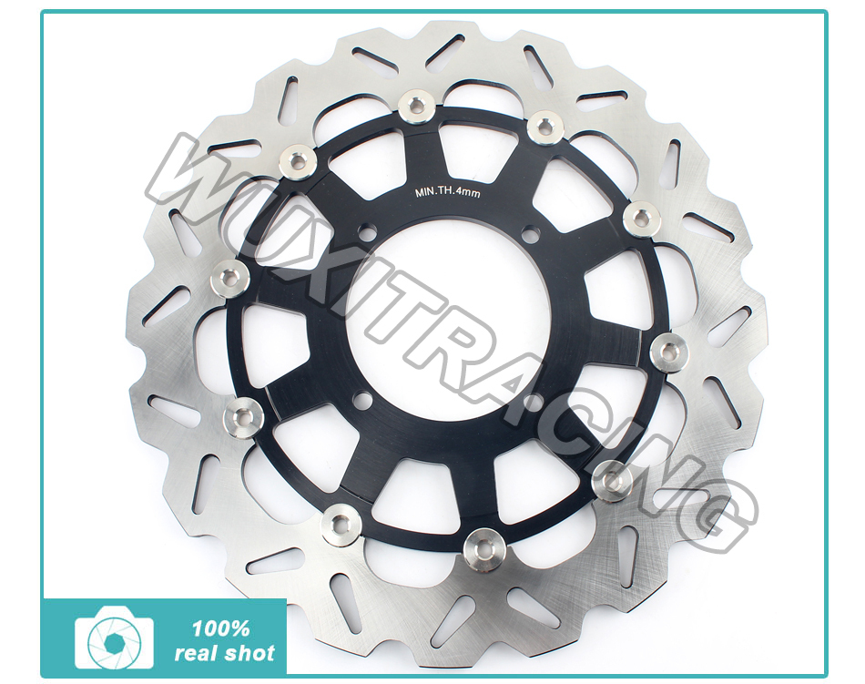 Oversize 320mm Front Brake Disc Rotor for Kawasaki KX 125 250 87-05 KXF 250 04 05 KLX R250 300 650 KX 500 86-04