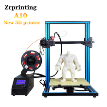 2019 Newest 3D printer Metal frame High Quality Precision kit Filament SDcard LCD A-10S Resume Power Failure Printing