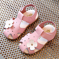 2017 Summer Baby Shoes T Strap Babies Girls Sandals Fancy Infant Girl Summer Frist Walkers Soft Sole Toddlers Beach Shoes