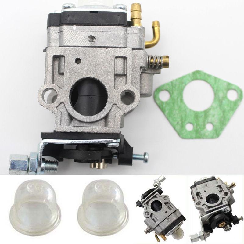 15 milímetros Kit Carburador Para Roçadora 43cc 49cc 52cc Motosserra Strimmer Cortador Carb