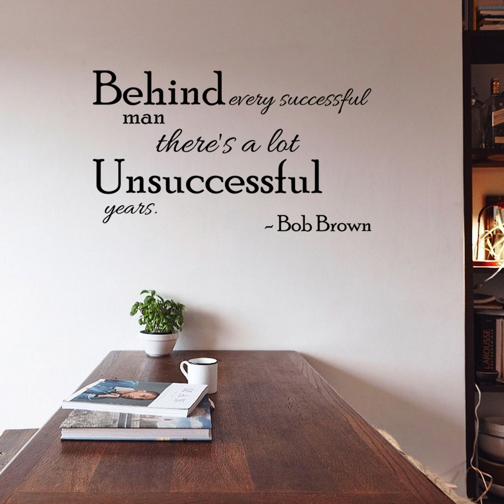 compare prices on celebrity wall decals online shopping buy low fashion celebrity bob brown english inspirational motto home decoration wall stickers living room wall decals bedroom