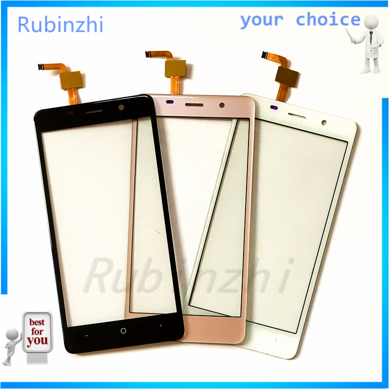 RUBINZHI Phone Touch Screen Sensor For Bravis A504 Trace Touchscreen Glass Touch Panel Replacement Parts