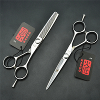 5 0 5 5 6 0 Japan Kasho 440C Professional Human Hair Scissors Hairdressing Scissors Cutting