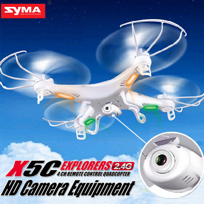 Hots SYMA X5C 4CH 6-Axis Gyro RC Quadcopter Toys Drone with or without Camera Remote Controller Mini Quadrupter dfd f183 quadcopter 4ch drone 6 axis gyro rc quadcopter remote control toys with hd camera syma x5c upgraded version