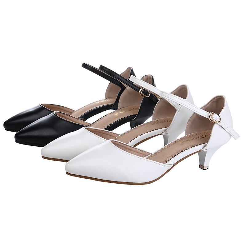 Sandalet Thelbësore të grave YALNN thembra të mesme Verë të - Këpucë për femra - Foto 5