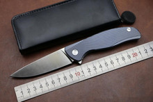 KESIWO KS019 outdoor camping knife pocket tactical survival knife D2 Blade Folding knife utility EDC ball bearing flipper knife