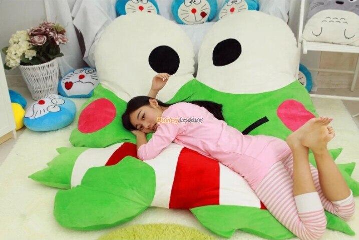 Fancytrader высокое качество лягушка 180 см X 165 см Огромный гигантский милый лягушка кровать ковер диван татами, бесплатная доставка FT90348