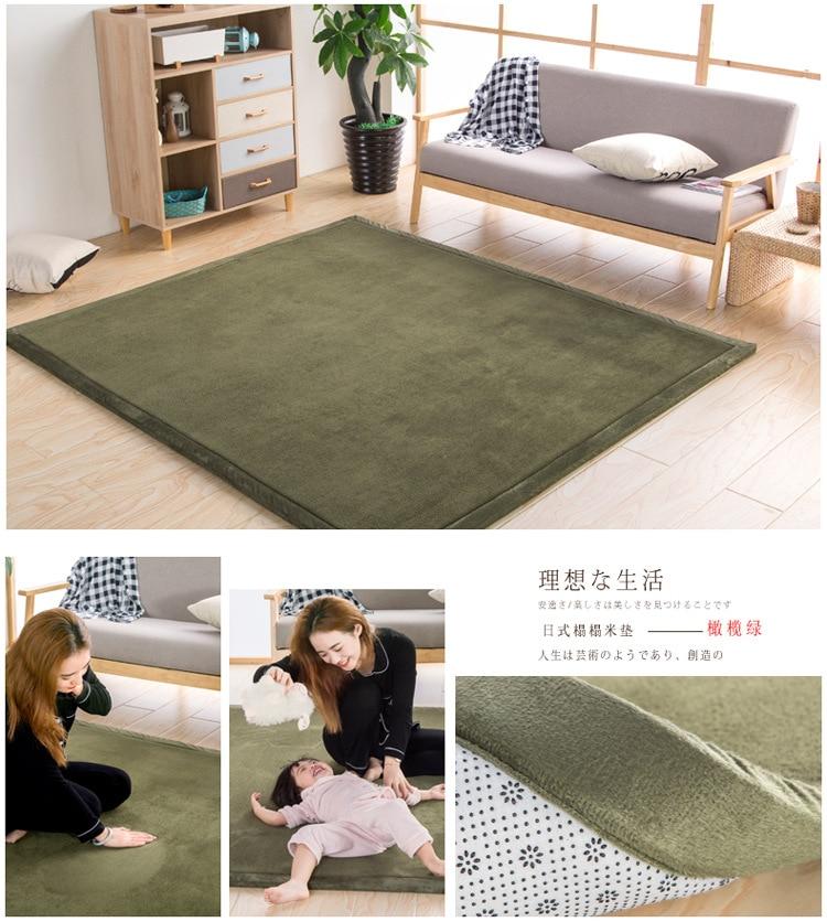 Baby Play Mat Coral Velvet Antiskid Design Crawling Mat  Baby Carpet Mat for Children Game Pad Super Soft Comfortable Playmat  (16)