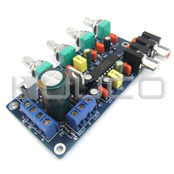 Low Pass Filter Audio Amplifiers Tone Board Power Controller Subwoofer Circuit Design Board Audio Control Module-in Furniture Accessories from Furniture