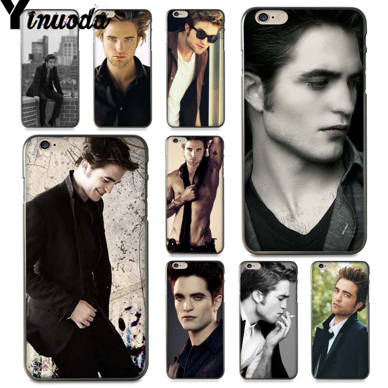 Yinuoda For iphone 7 6 X Case Robert Pattinson Twilight Vampire Esquire Best Phone Case for iPhone 8 6S Plus X XS XR XSMAX image