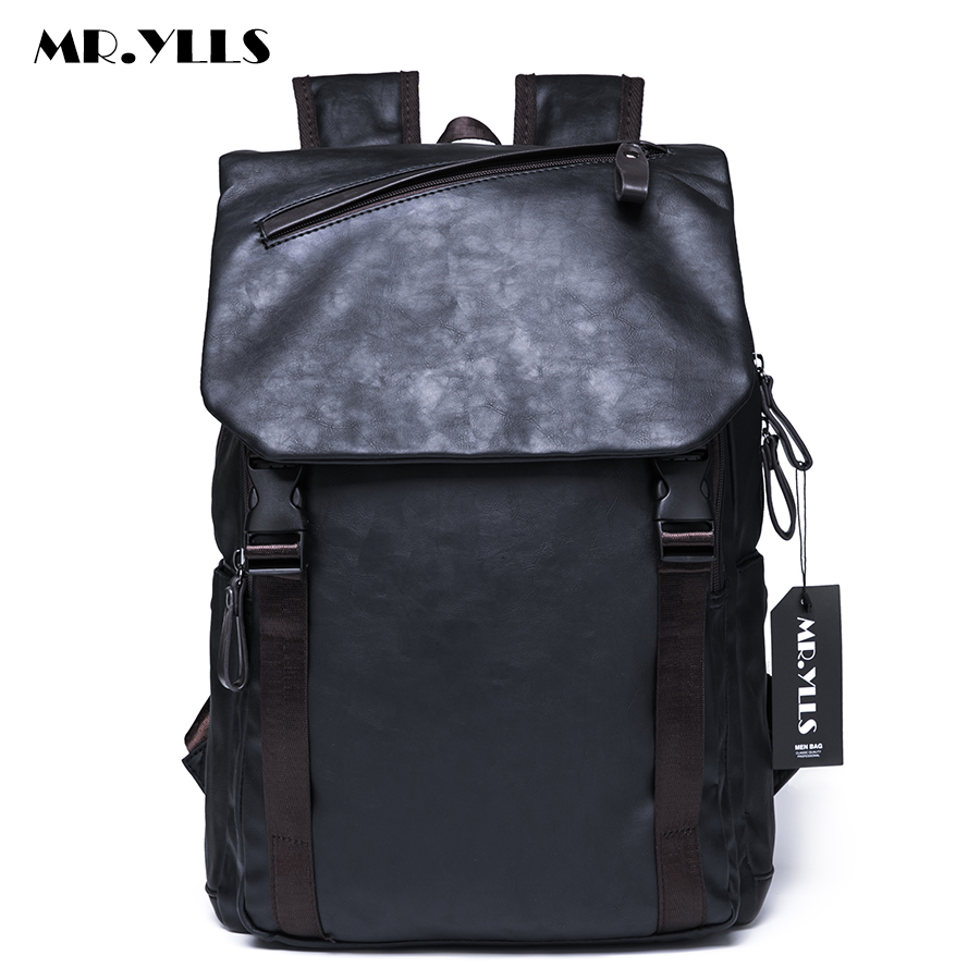 MR.YLLS Korean Men Business Backpack Vintage Laptop Bags Women Travel Lovers Backpacks School Fashion Computer Bag mochila 13 laptop backpack bag school travel national style waterproof canvas computer backpacks bags unique 13 15 women retro bags
