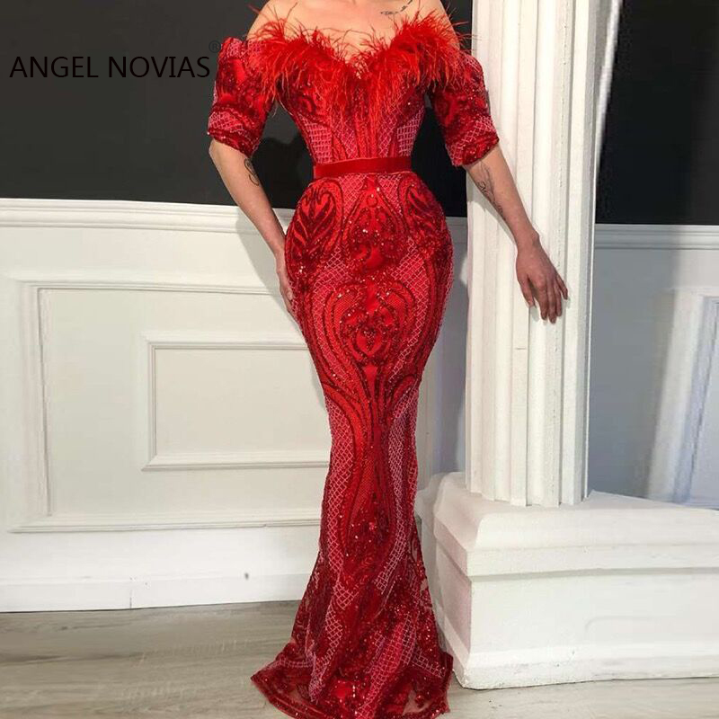 a4dbc687c0907 African Couture New Sparkly Evening Dresses 2018 Dubai Turkish ...