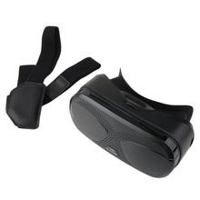 3D Virtual Reality VR Box Glasses Headset Helmet With Strap for3.5-6″ Phone