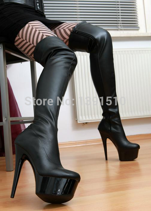 2015 spring women boots new 15cm ultra high heels boots. Black Bedroom Furniture Sets. Home Design Ideas