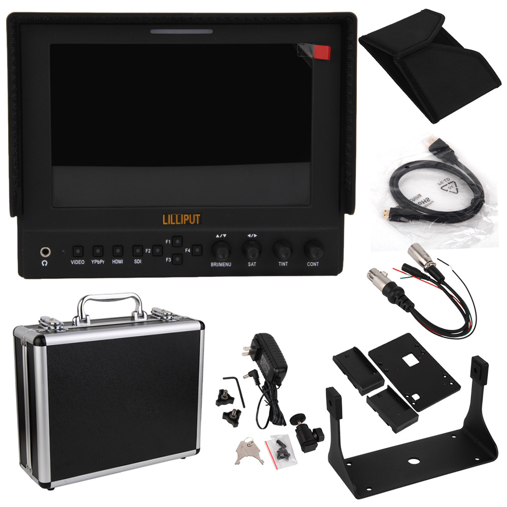Lilliput 663/O/P2 7 IPS 1280*800 Field LCD Monitor HDMI In Out Monitor  Vectorscope Waveform Shipping by SZEMS 7-10days get it lilliput tm 1018 o p 10 1 led ips full hd hdmi field touch screen camera monitor with hdmi input