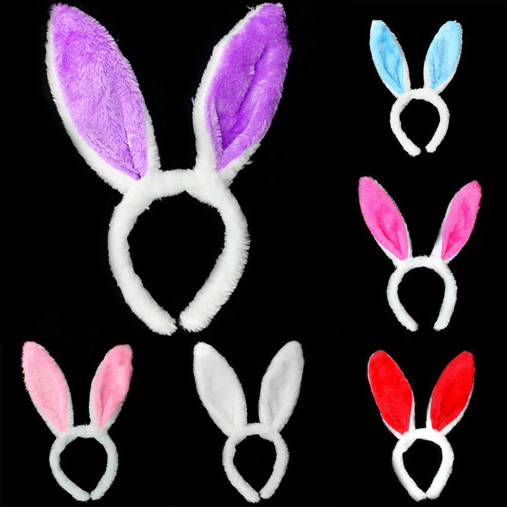 Headbands for girls Ladies Easter Adult Children Hairband Sequins Hairband  Rabbit Ear Headband Hairband Hair Accessories
